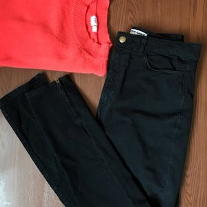 American Apparel black highwaisted pants